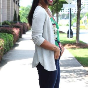 Cabi Shirttail Cardigan